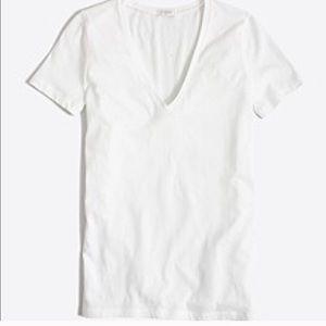 J. Crew Tissue V-Neck T-Shirt
